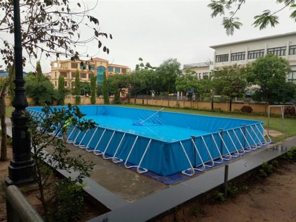 Chuyên cung cấp bể bơi thông minh