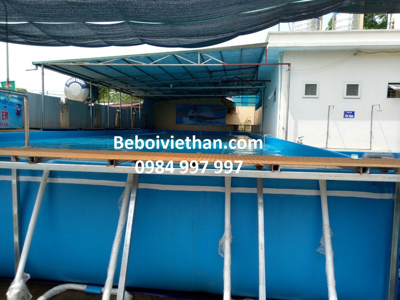 Bể bơi thông minh lắp ghép tại Bình Phước