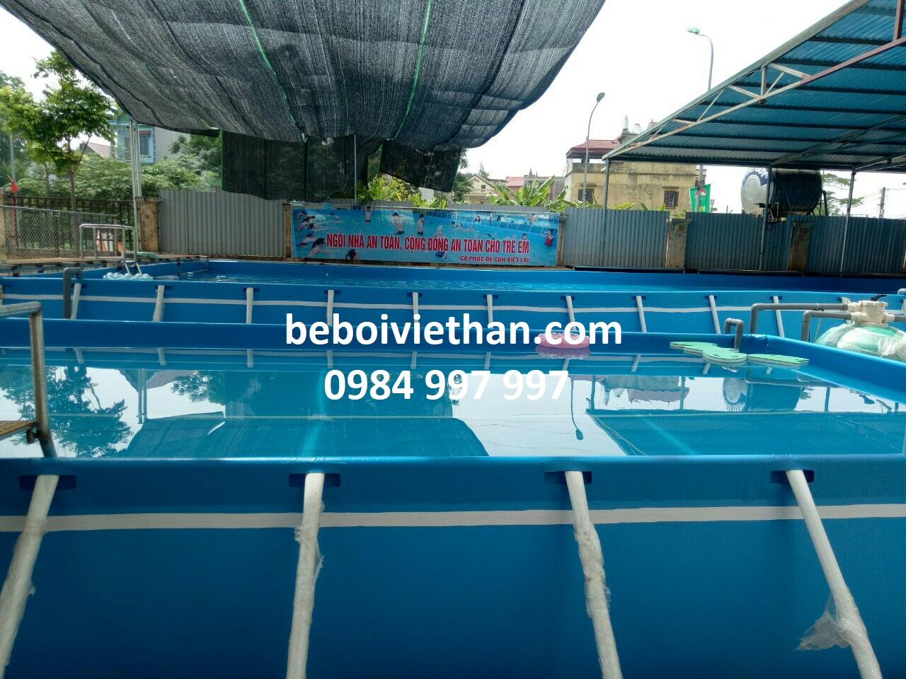 Báo giá bể bơi thông minh trên toàn quốc