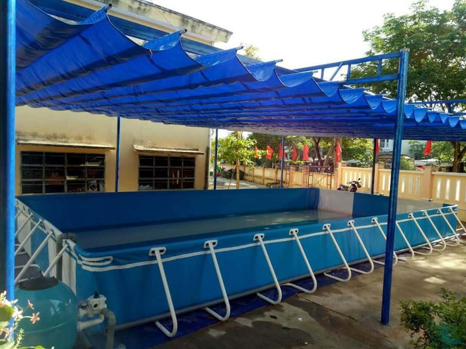 bể bơi di động Việt hàn
