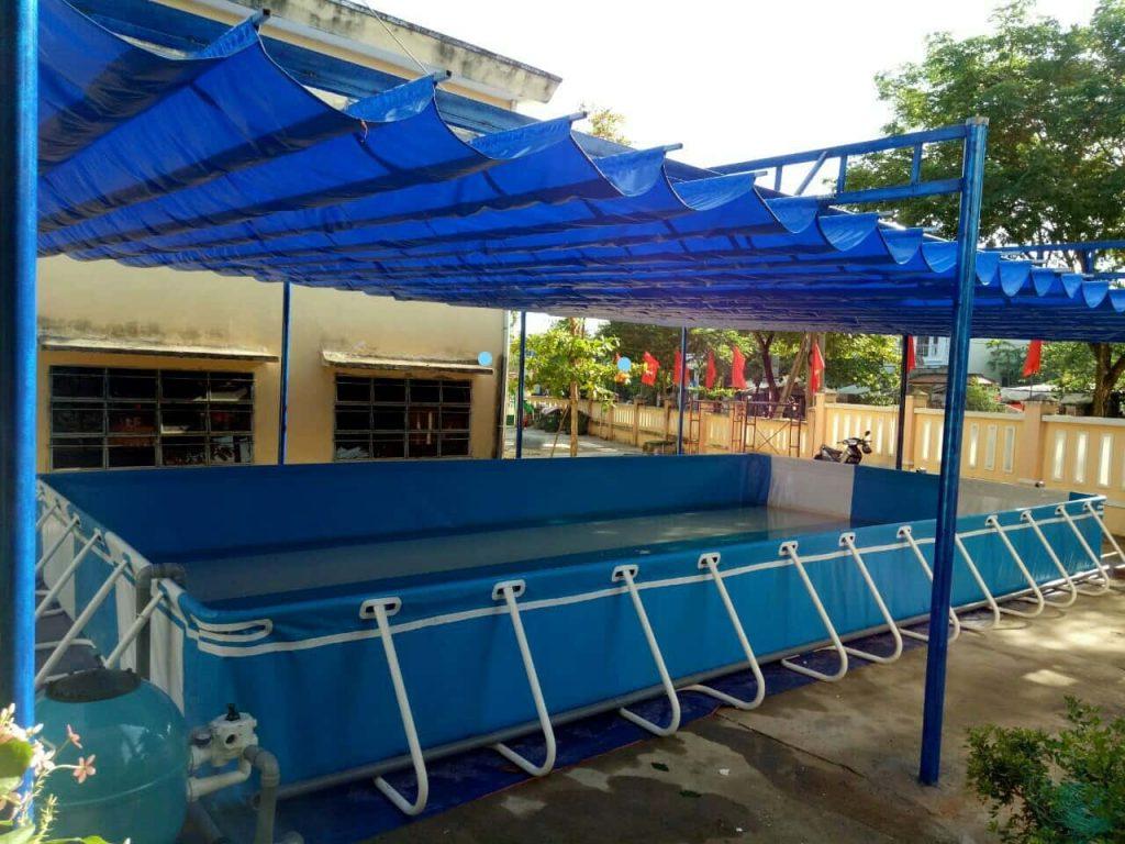 Bể bơi di động Vina Hồng Dương 3