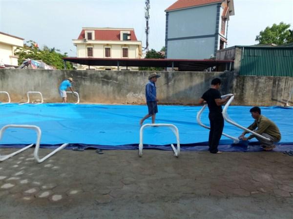 bạt bể bơi Việt Hàn