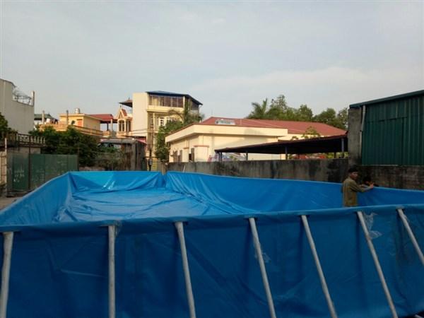 Báo giá bể bơi thông minh tại Bắc Ninh