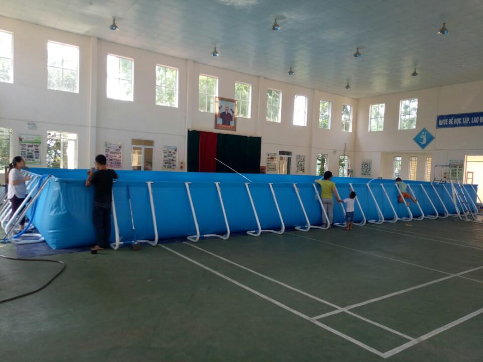 Bể bơi Việt Hàn tại trường tiểu học Sơn Đông, Sơn Tây, Hà Nội