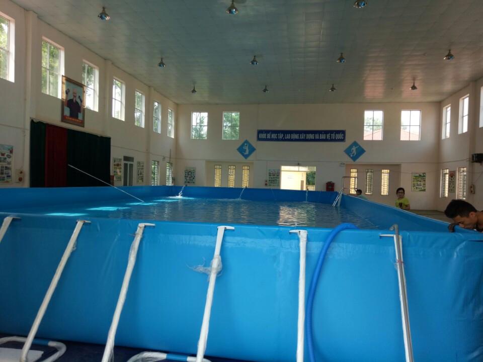 Bể bơi việt hàn tại trường tiểu học Sơn Đông, Sơn Tây